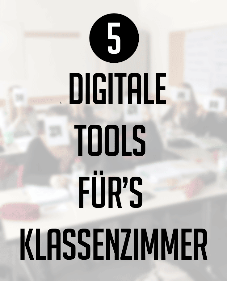 5 digitale Tools für\'s Klassenzimmer – always beta